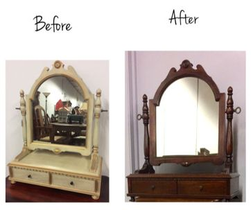 before after mirror